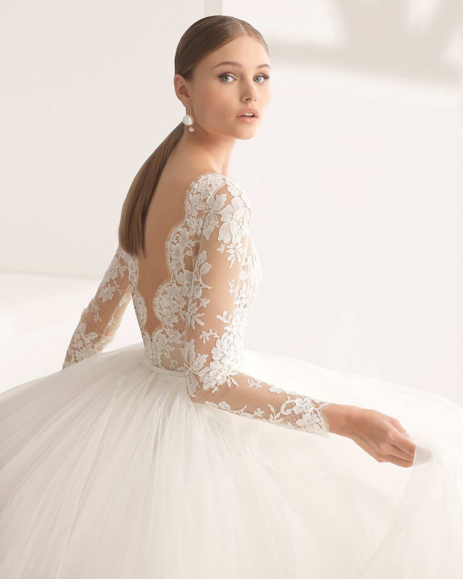 Niher bridal collection rosa clará couture collection