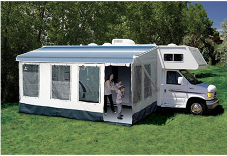 211600a Carefree Rv Awning Enclosure For Vertical Arm Awnings With 16 17 Foot Length Rv Camping Recreational Vehicles Rv Homes