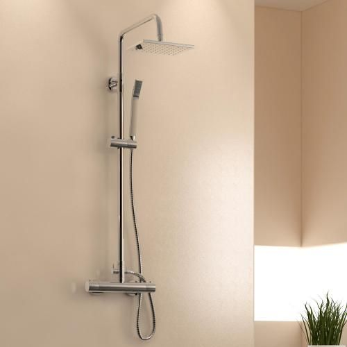 Treos Serie 173 Thermostat Duschsystem für Wandmontage mit