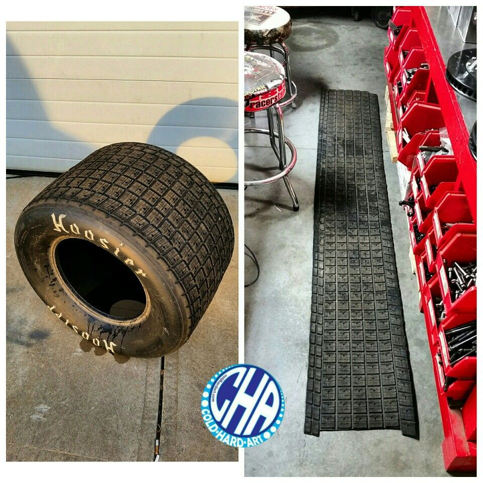 Fatigue mat from race used sprint car tires there nice and