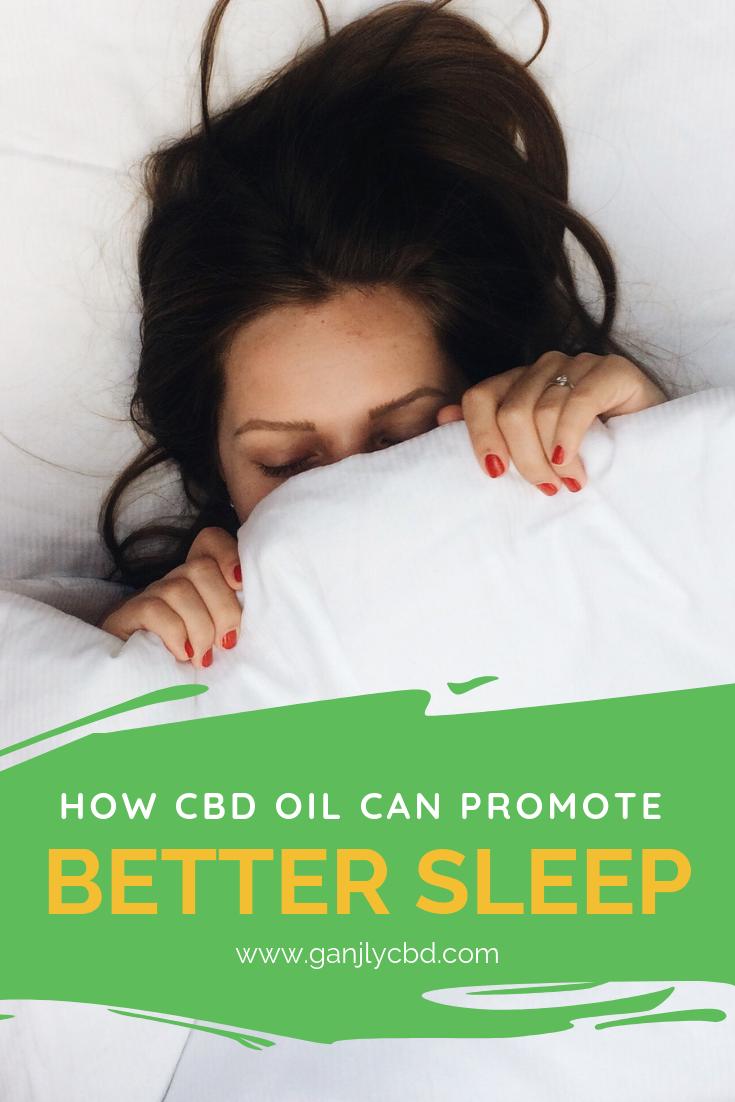How CBD oil Can Promote Healthy Sleep – Ganjly CBD