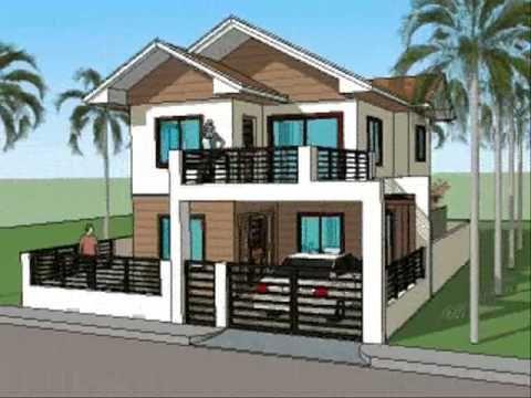 Simple House Plan Designs - 2 Level Home arhitektura Pinterest