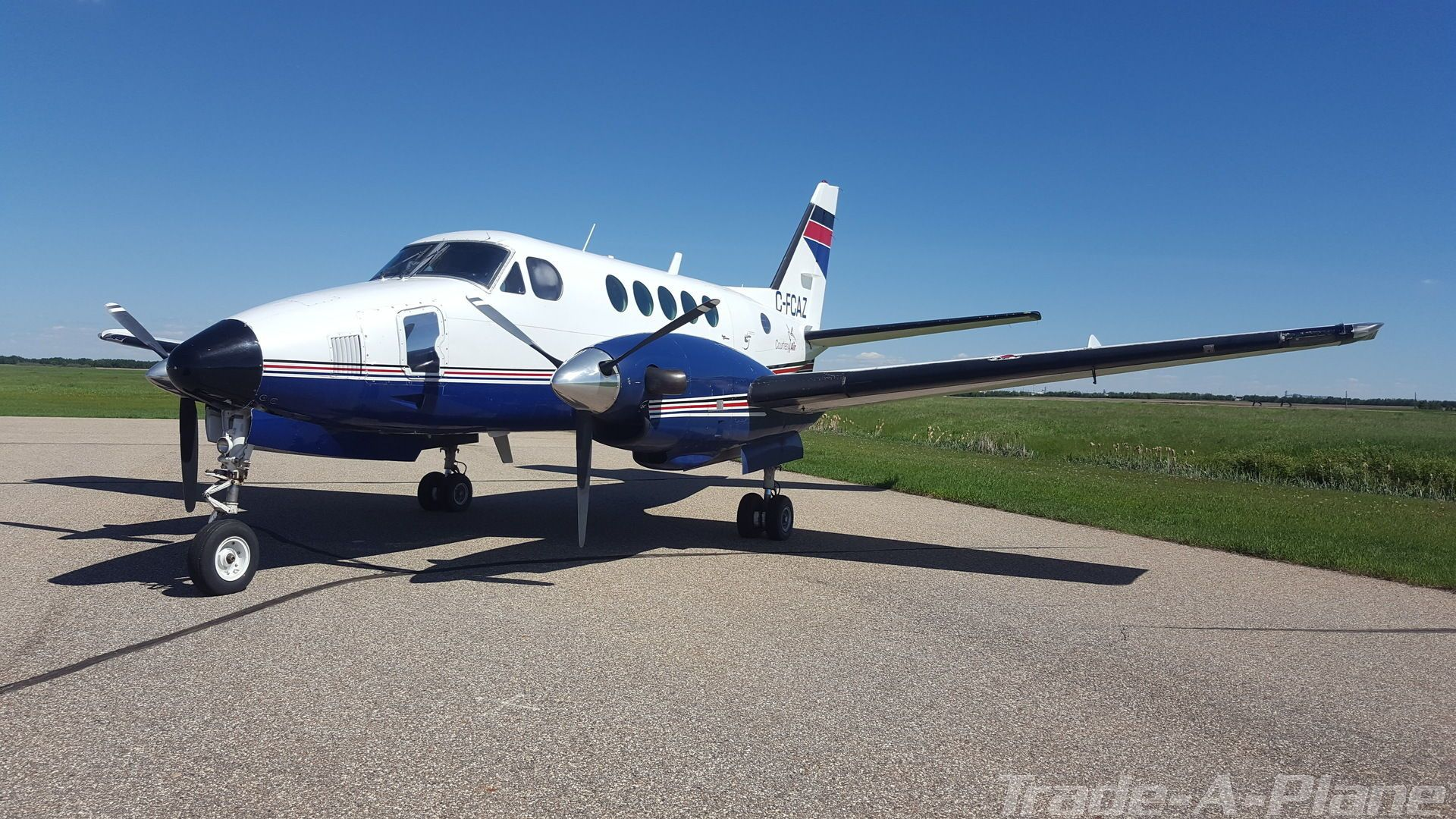 1974 BEECHCRAFT KING AIR 100 Turboprop for sale Calgary