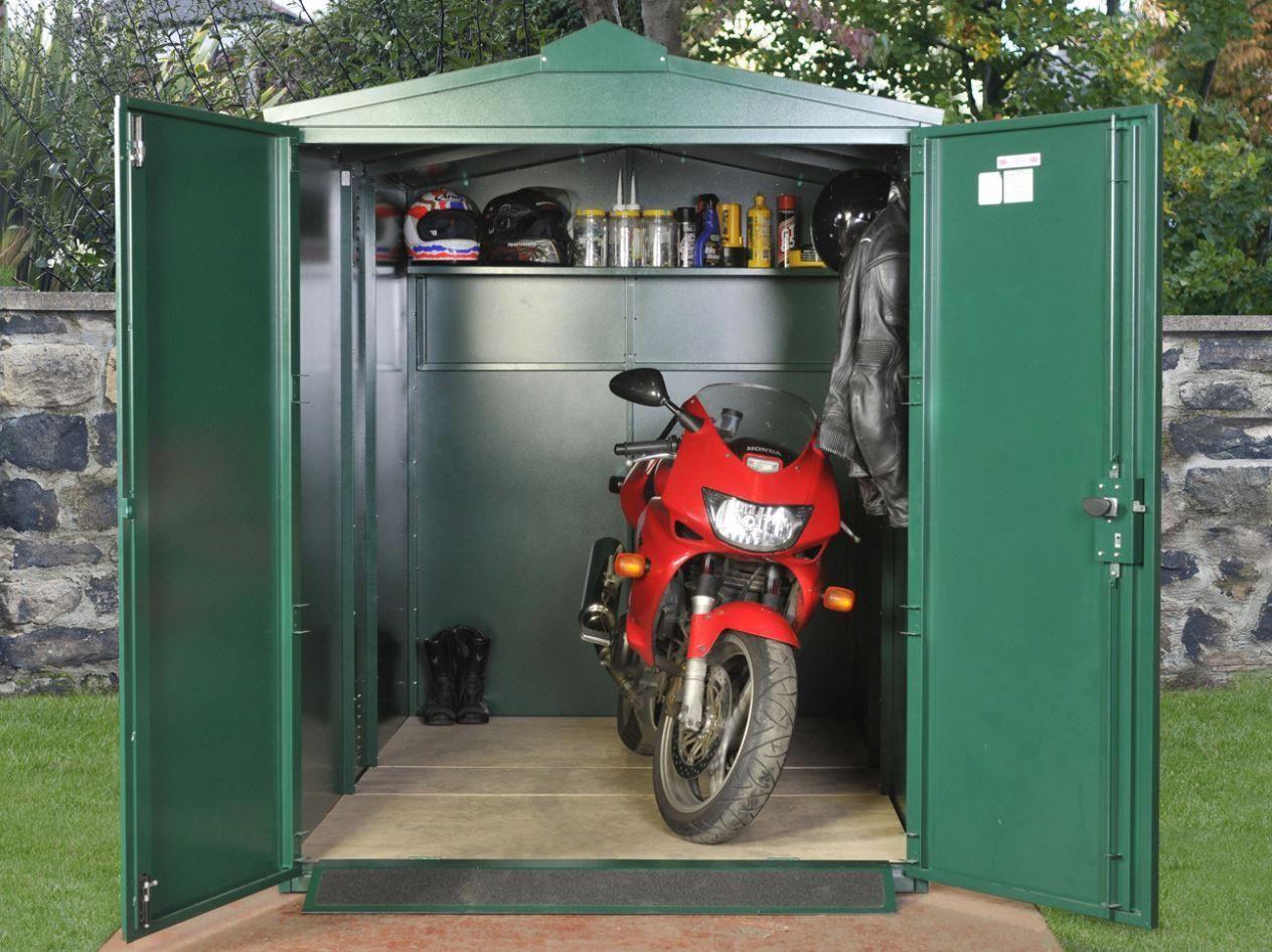 Motorbike Storage Shed Uk Plasticgardensheds Shed Planning Life