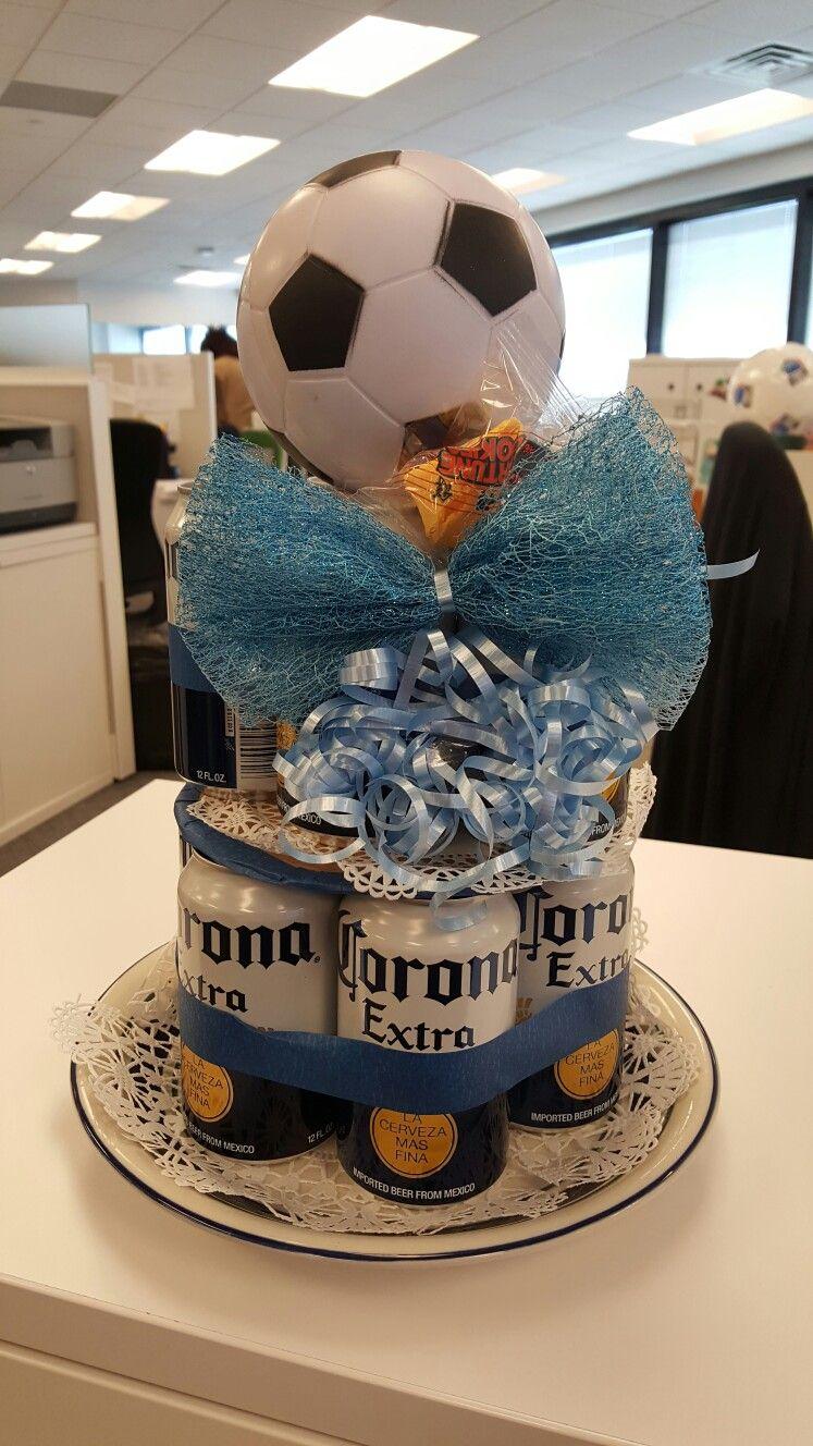 Beer cake for our coworker Beer cake, Cake, Beer bread