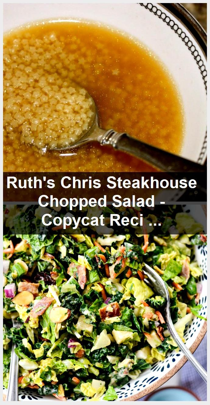 Ruth's Chris Steakhouse Chopped Salad - Copycat Recipe is SO DELICIOUS!! - La Be...,  #Chopped #Chris #Copycat #Delicious #Recipe #Ruths #Salad #Steakhouse