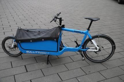 bullitt lastenrad mit box und kindersitz in hannover. Black Bedroom Furniture Sets. Home Design Ideas