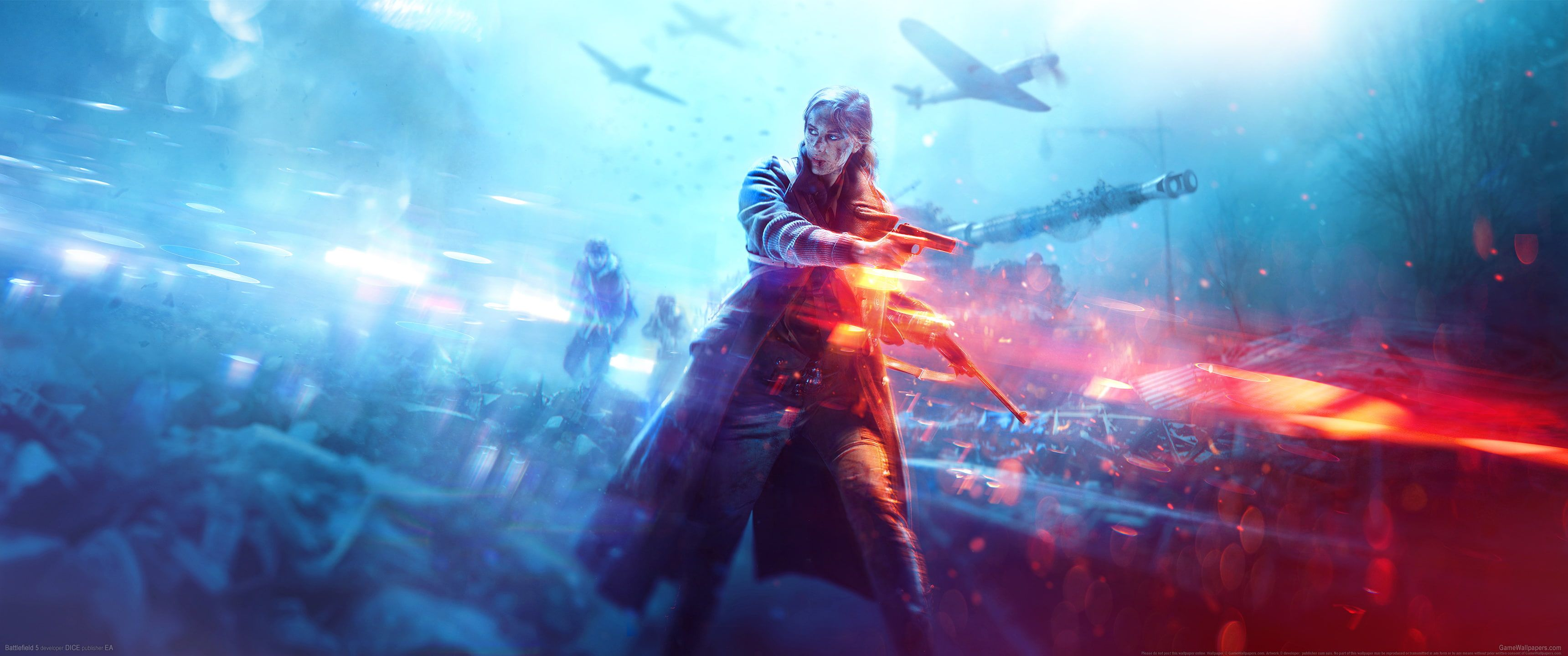 Video Games Battlefield V Ultrawide Ultra Wide Battlefield Battlefield 5 2k Wallpaper Hdwallpaper Desktop Battlefield Battlefield 5 3840x2160 Wallpaper