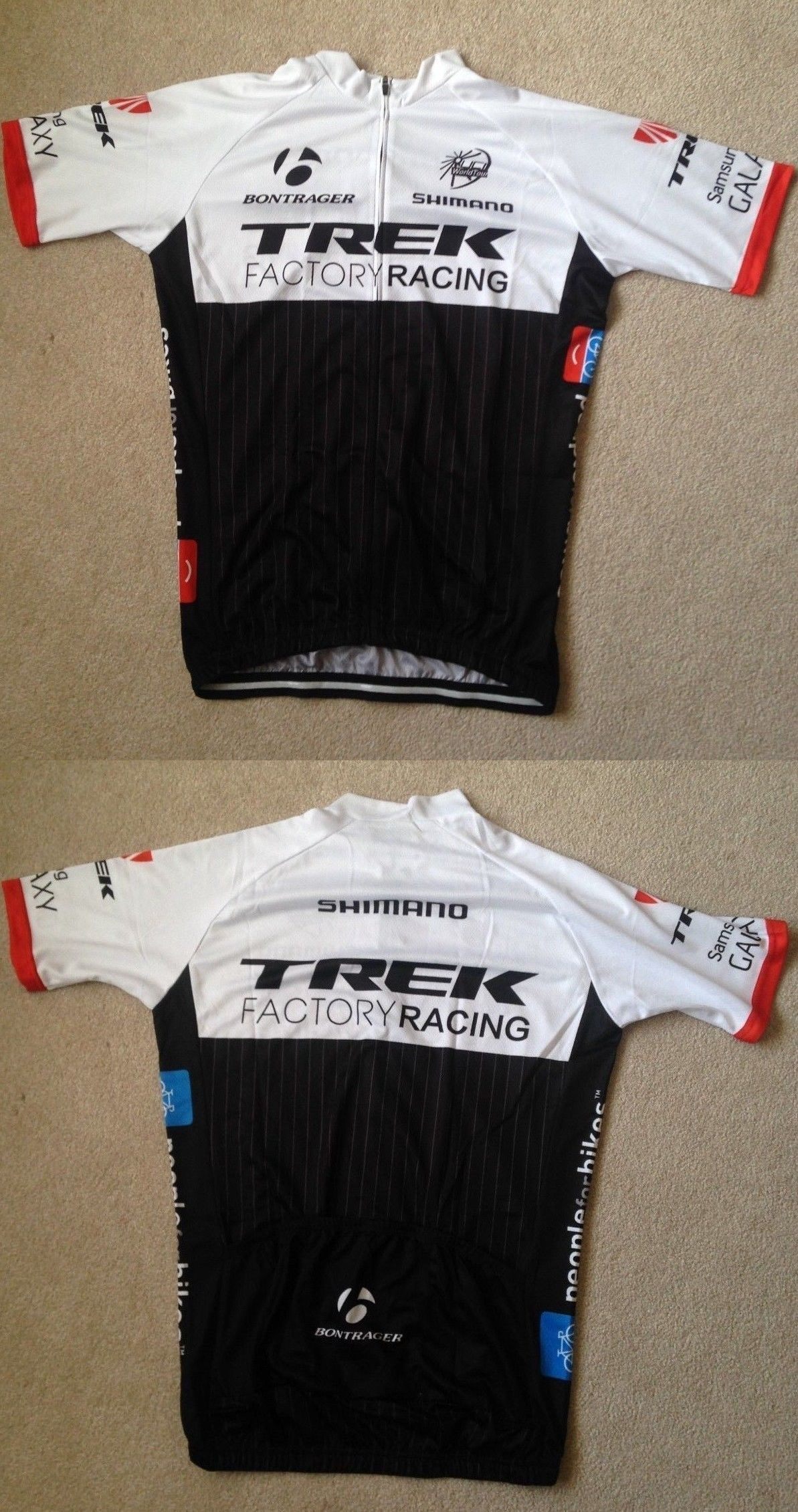 Jerseys 56183  Trek Factory Racing Cycling Jersey Large -  BUY IT NOW ONLY  35a755cfd