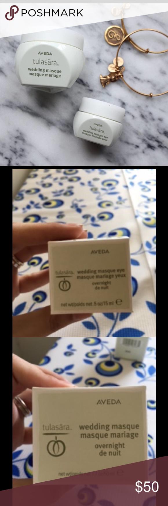 Aveda wedding mask overnight and eye overnight 2 masks