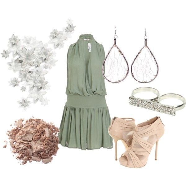 Tranquility., created by #theedeandrab on #polyvore. #fashion