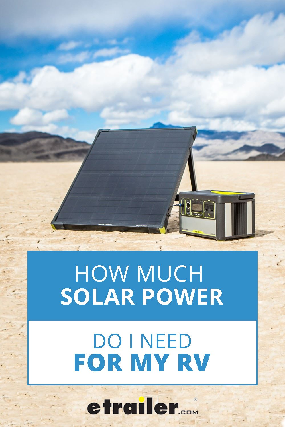 We Get It Upgrading Your Rv With Solar Power Is A Big Decision How Much Power Do You Need How Many We Re Here To Help Clea In 2020 Solar Solar Power Rv