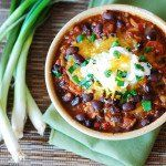 Beef chili recipe with black beans