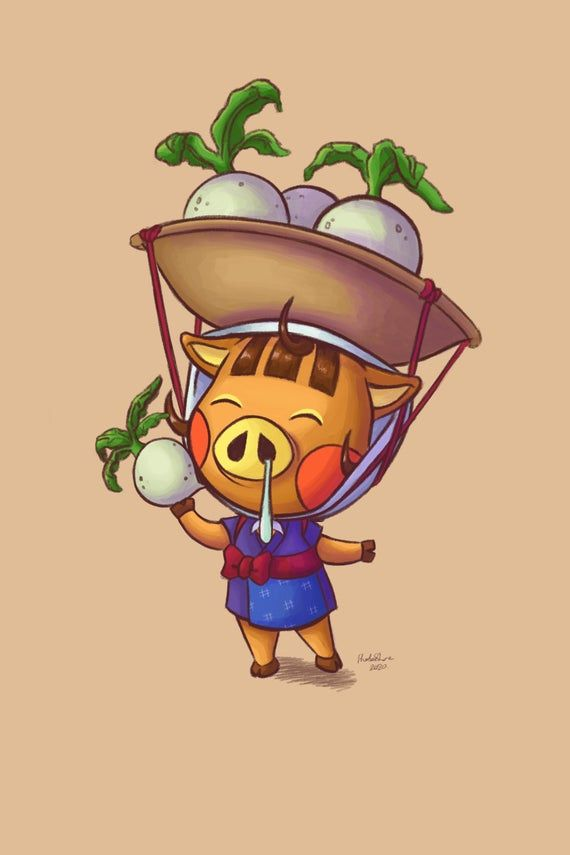 Animal Crossing Daisy Mae Colouring Page Etsy Animal Crossing Animal Crossing Characters Daisy Mae