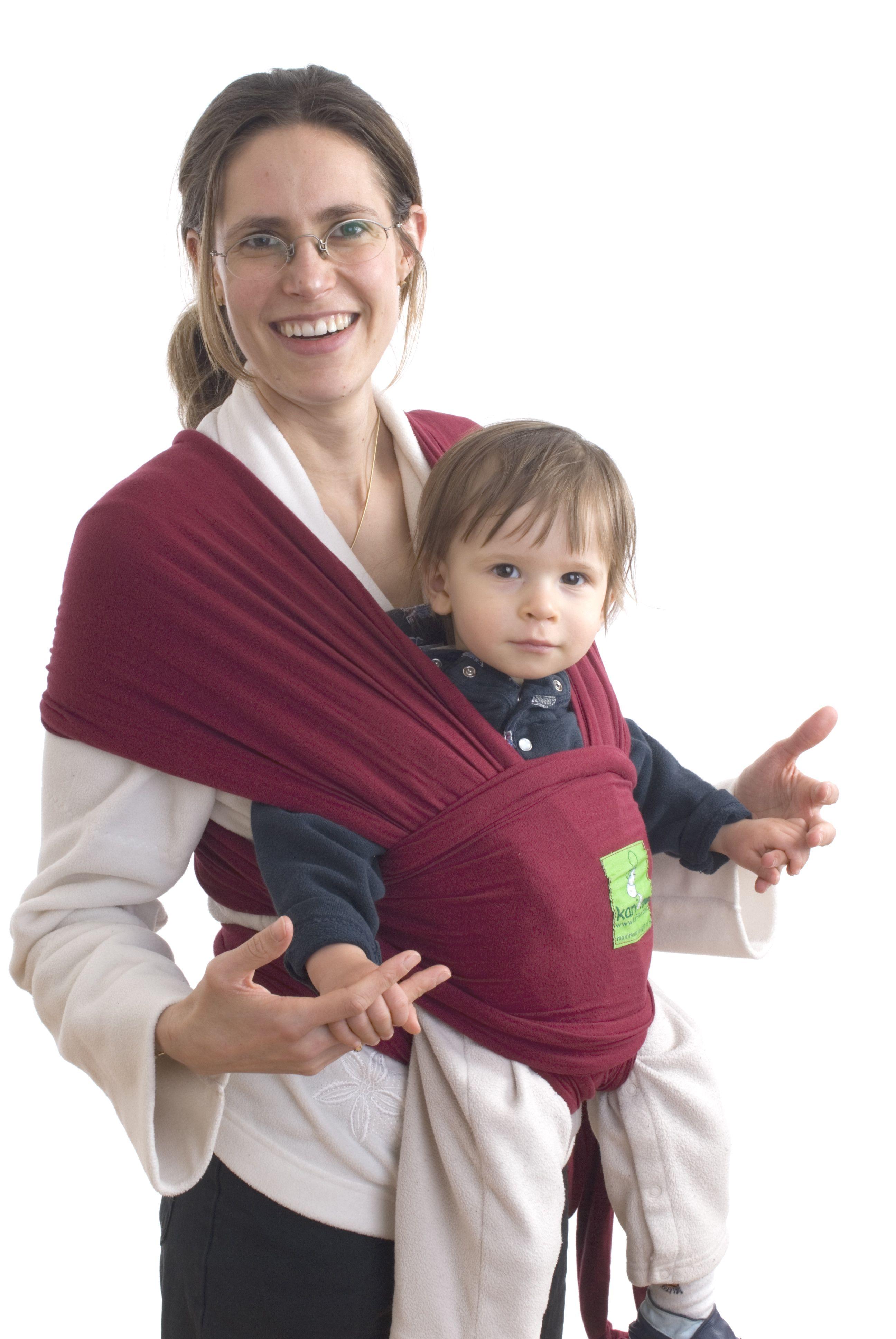Kari Me Baby Wrap 'Burgundy' (With images) Baby sling