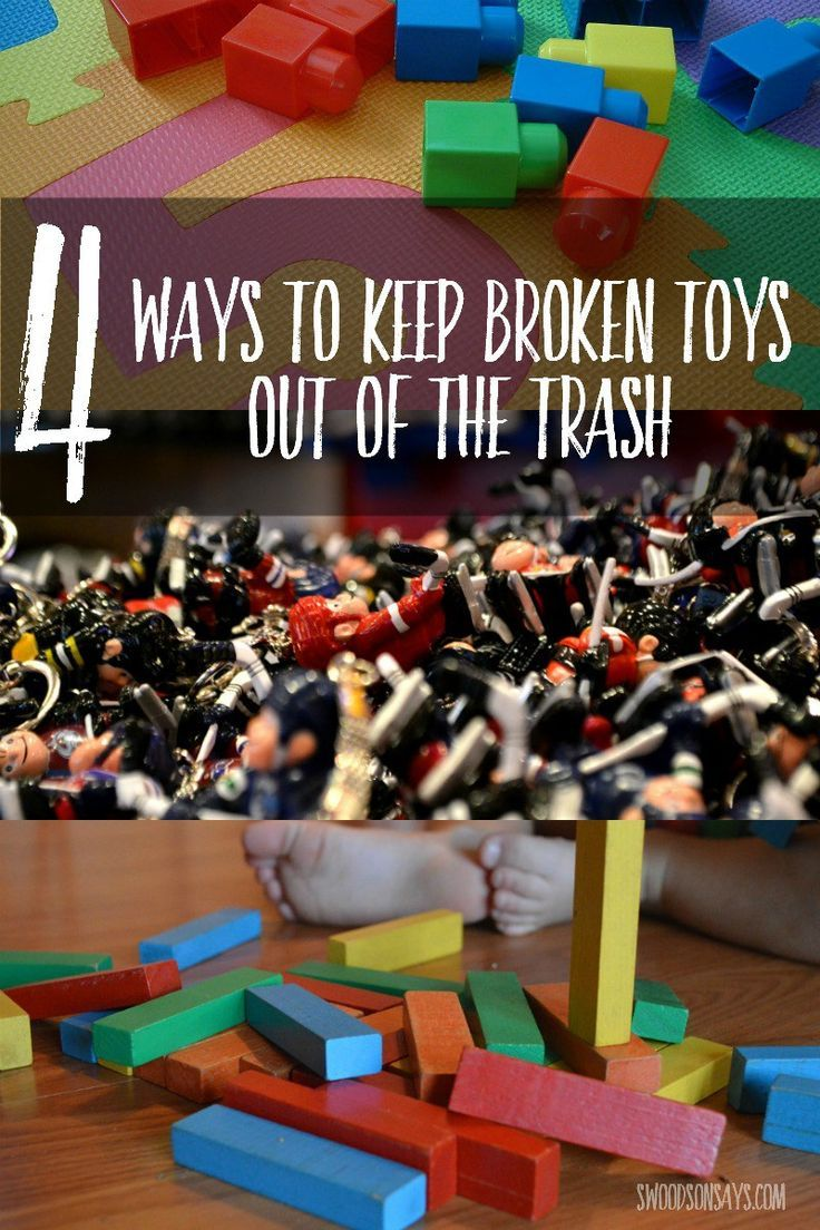 How to Recycle & Upcycle Old or Broken Toys | Upcycle toys ...