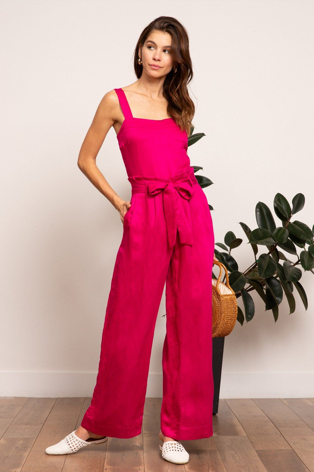ee55ed80866 LUCY PARIS - Grace Paperbag Pant  LucyParis  hotpink  fashion  spring   springstyle  resort