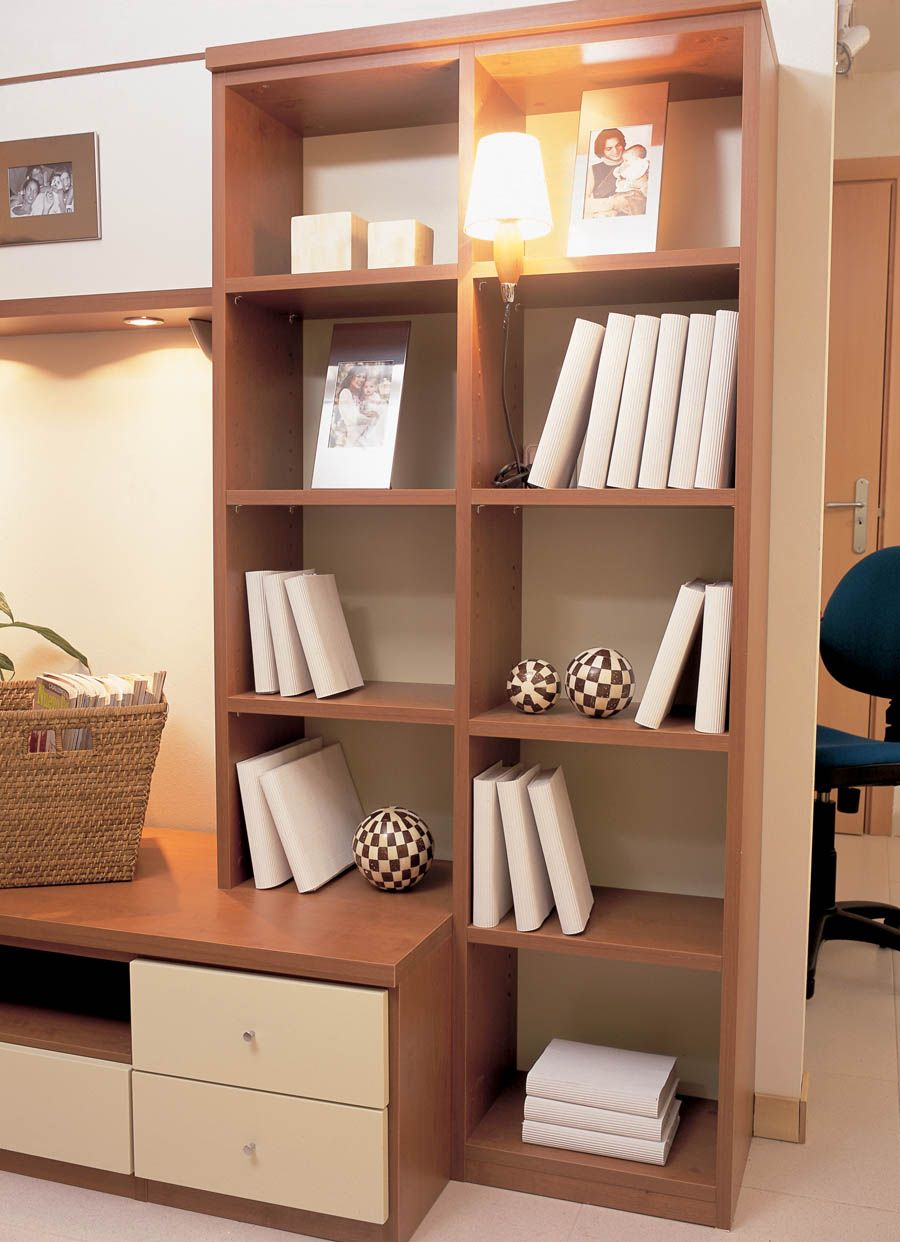 Rinc N Acogedor Y Funcional Libros Muebles Madera  # Muebles Diferentes