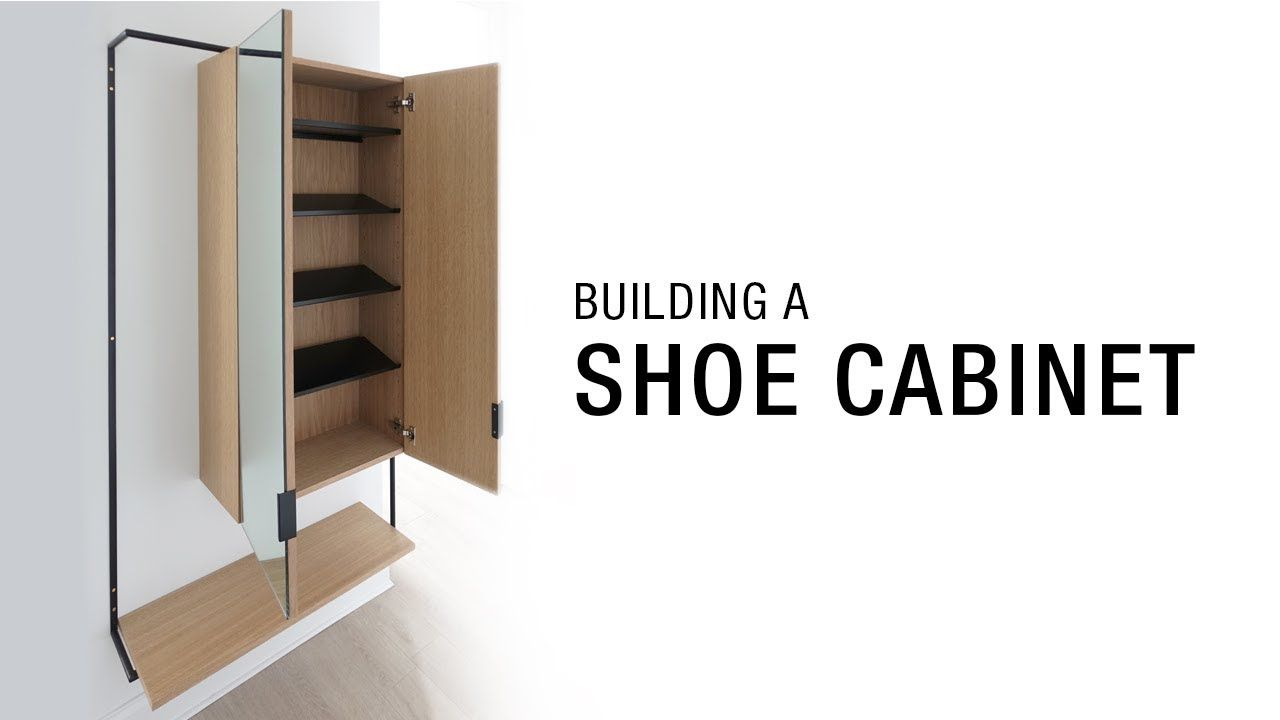 Plywood Shoe Cabinet Youtube With Images Cabinet Shoe