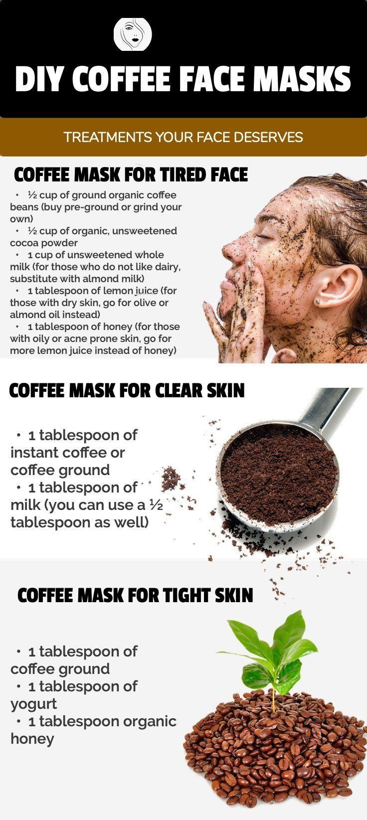 Top 5 DIY Coffee Face Mask Treatments Your Face Deserves -