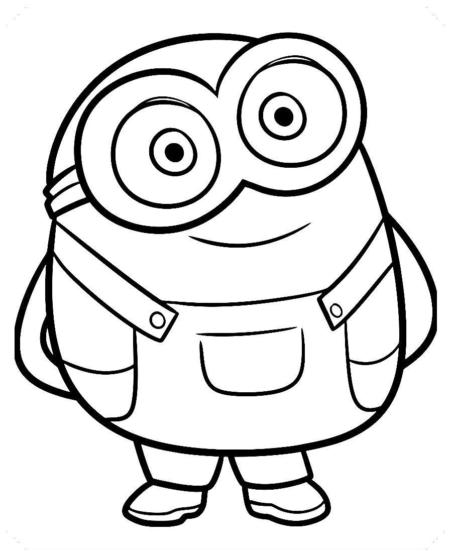 Los Más Lindos Dibujos De Minions Para Colorear Y Pintar A Todo Color Imágenes Prontas Pa Minions Dibujos Dibujos Sencillos Disney Dibujos Para Pintar Faciles