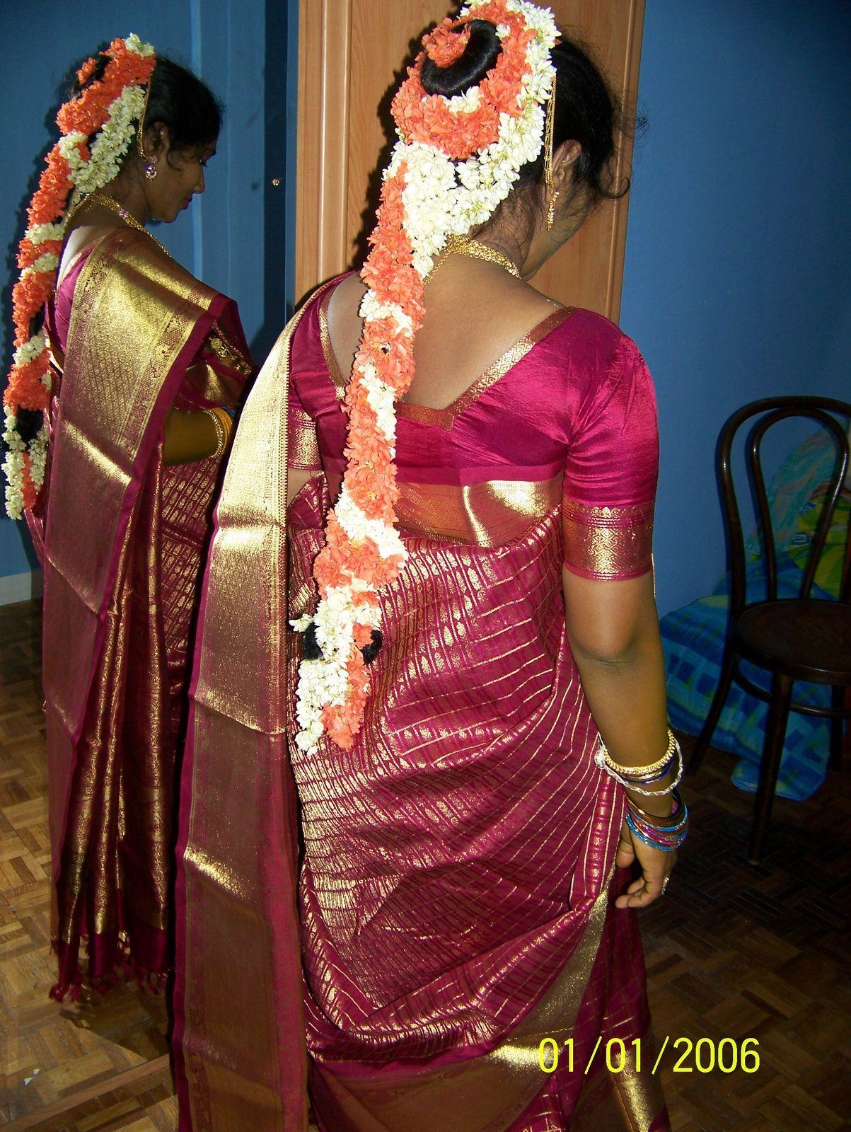 Valaikappu Makeup Hairstyle : valaikappu, makeup, hairstyle, Seemantham, South, Indian, Bride,, Designer, Dresses, Indian,, Bride, Hairstyle