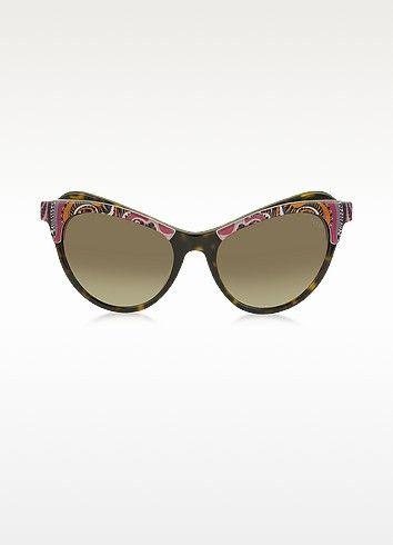 Pucci Emilio mujer de Cat Ep35 Eye Gafas Frame Fantasy para Acetate sol 1gdqwC