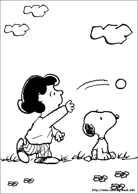Snoopy coloring picture | Peanuts | Pinterest