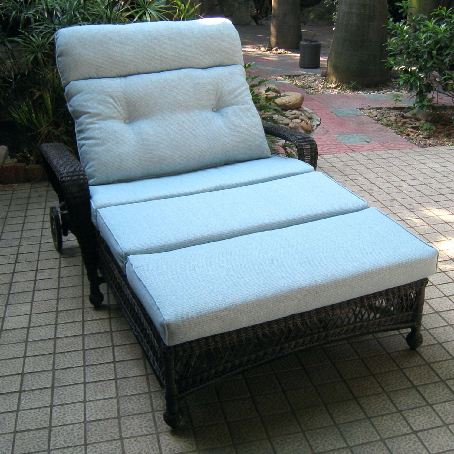 Outdoor Hanging Double Lounger Chair