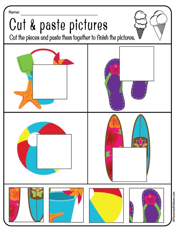 Kindergarten & Preschool Summer Worksheets (Free Printable PDF) Summer  Worksheets, Preschool Summer Worksheets, Kindergarten Summer Worksheets
