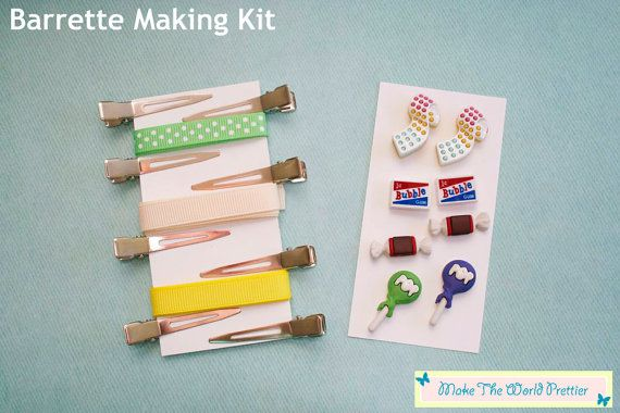 Penny Candy Hair ClipBarrette Making Kit by