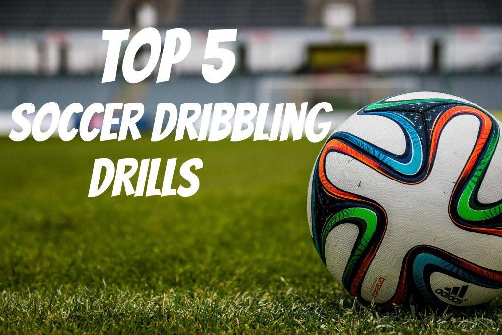 Here are the top 5 soccer dribbling drills to help players