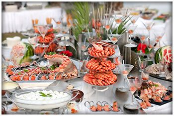 Wedding Reception Dinner Ideas Buffet Menu Back Print
