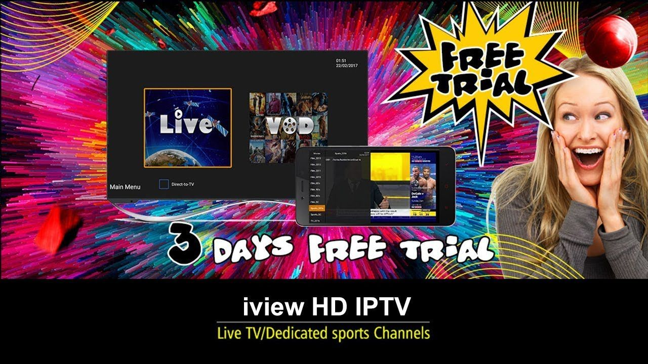 The fastest way to get a Free Trial of IPTV (2019) | IPTV