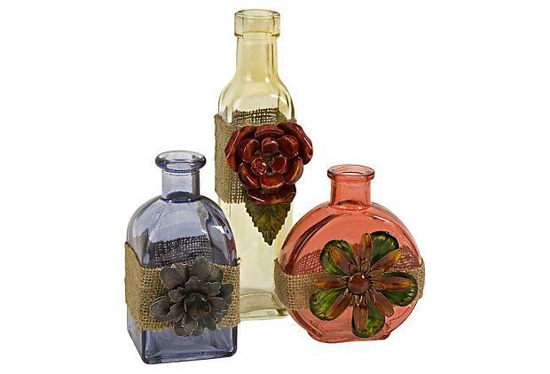 garrafa antiga diferente