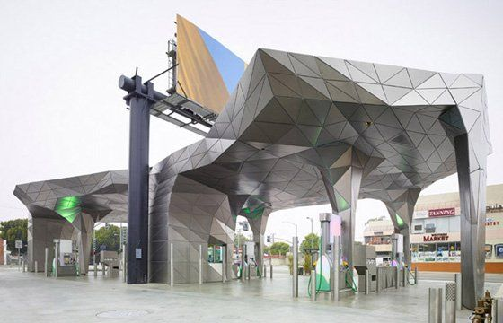 The World S Most Beautiful Gas Stations Architecture Architecture Design Building Design