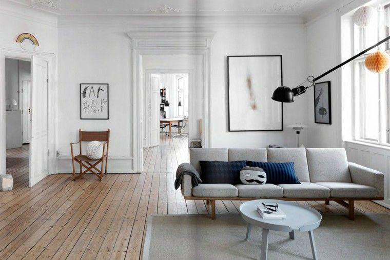 Décoration De Salon Moderne Scandinave Canapé Salon Coussin Tapis Table  Basse