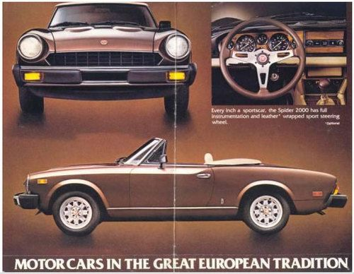 image detail for fiat 124 spider 1978 1982 service repair manual rh pinterest ca 1982 Fiat Spider 1982 Fiat Spider