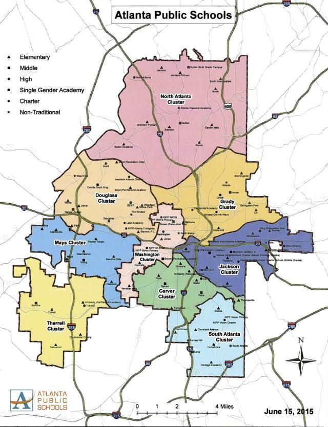 Atlanta S Best Neighborhoods For Good Schools Moving Pinterest