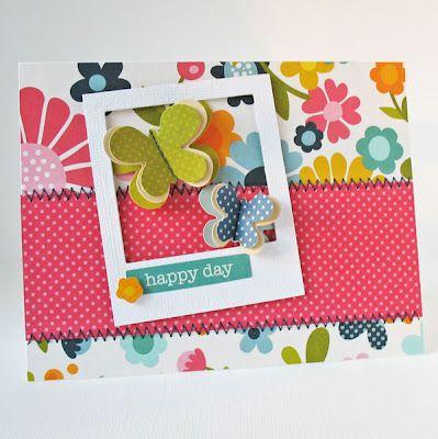 Card-Blanc by Kathy Martin