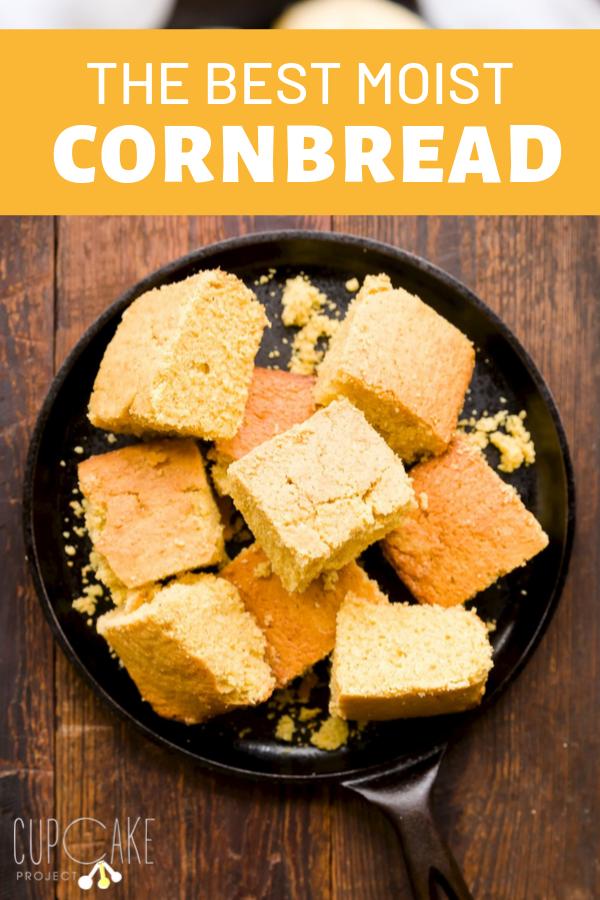 The Best Moist Cornbread Sweet Cornbread Recipe Recipe Moist Cornbread Cornbread Recipe Sweet Recipes