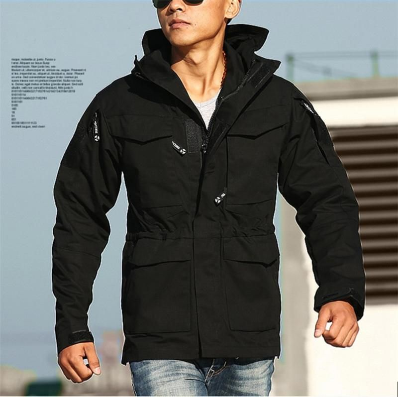 c0dbabace02 Men s Military Tactical M65 Style Outdoor Gear Winter Jacket - 3 Colors