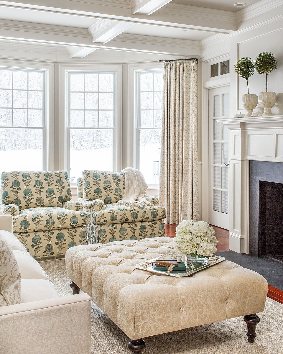 Classic american home interior a colonial style home updated with traditional charm in a light and