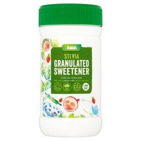 Asda Stevia Sweetener Granules Stevia Food Low Sugar