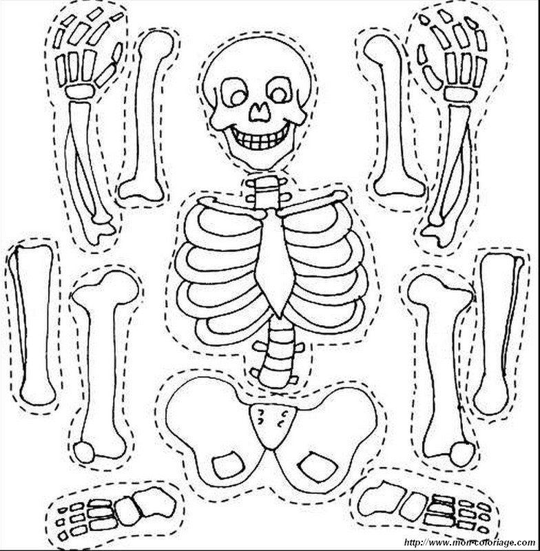 halloween ausmalbilder skelett 04 | Halloween | Pinterest ...