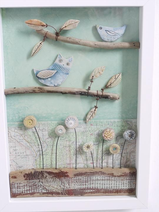 Little owl and bird shirley vauvelle kunst aus ton pinterest - Schulprojekte ideen ...