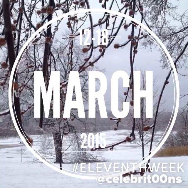"""""""#EleventhWeek #March #Marzo #2015 A partir de vuestros """"Me gusta"""" os dejo, en 15"""", lo que más habéis destacado de la galería, publicado esta última…"""""""