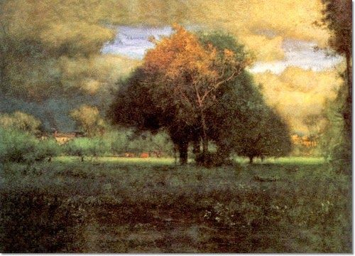 19th Century American Landscape Painting George Inness Tonal