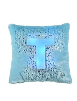 Light Up Initial Pillow Pictures