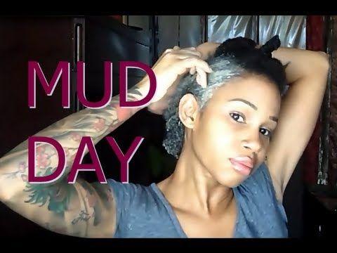 Bentonite Mudday - Clarifying Natural Hair w/ Mud